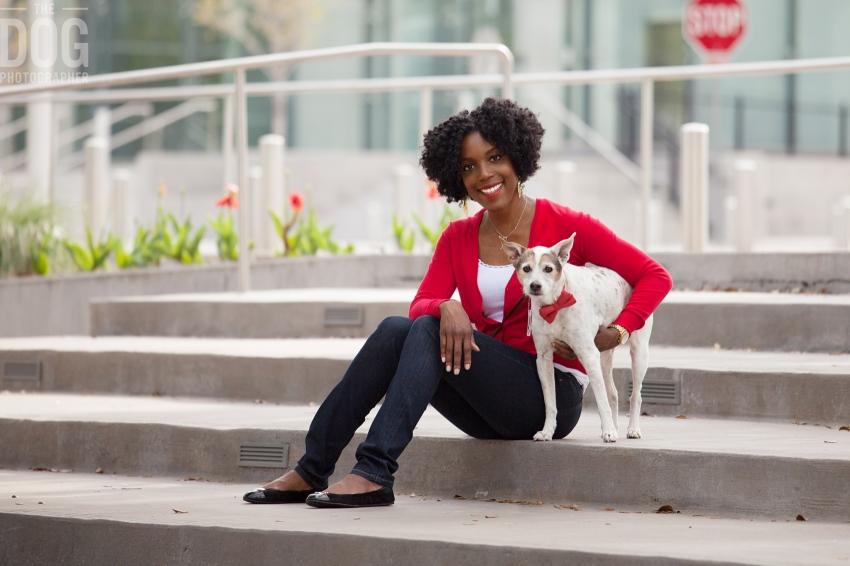 Dallas Arts District Dog Photographer